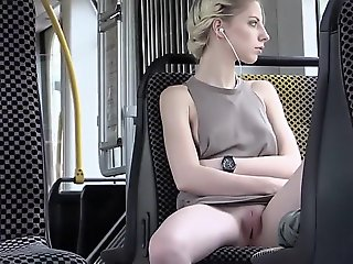 blonde models , public nude and sex